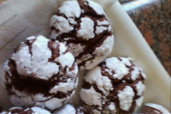 Biscotti Black and White