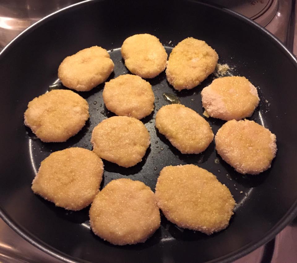 nuggets di pollo bimby