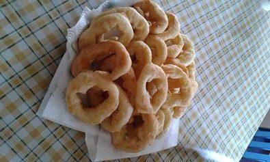 Frittelline fritte di pane