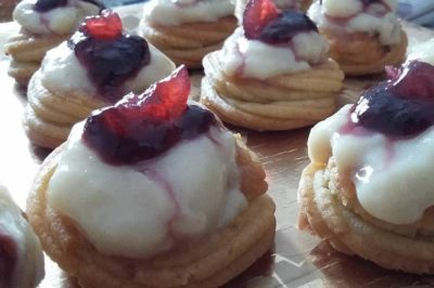Zeppole vegane e light