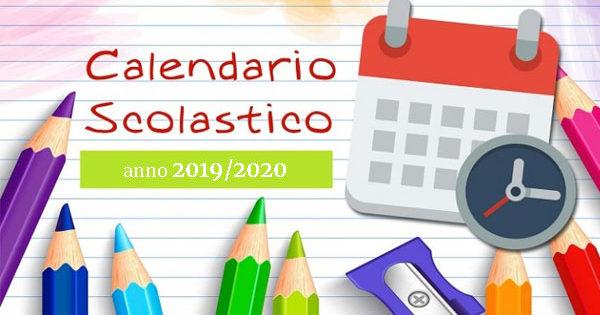 Calendario Scolastico 2020 E 2020 Lombardia.Calendario Scolastico 2019 2020 Inizio Scuola E Giorni Di