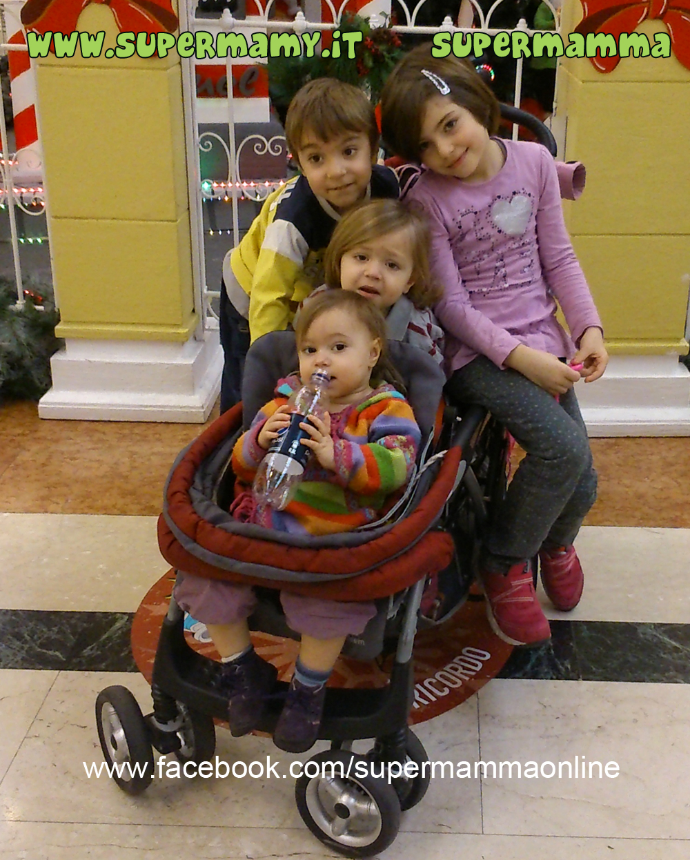 Centro commerciale on i bambini