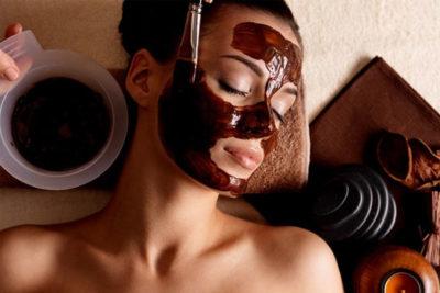 Maschera al cioccolato