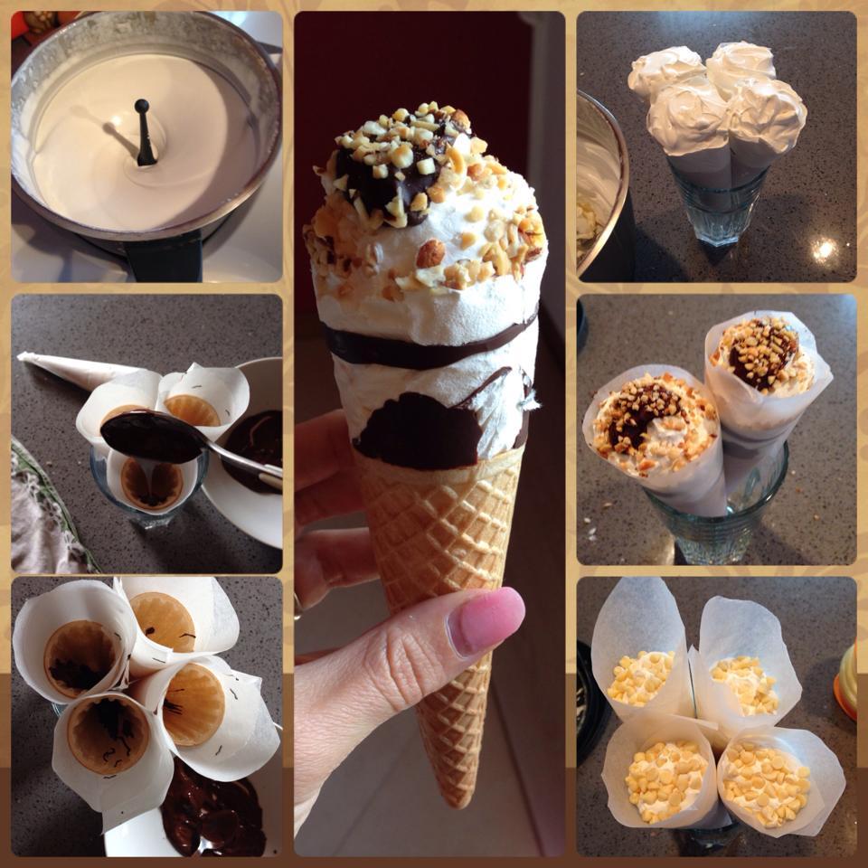 cornetti gelato