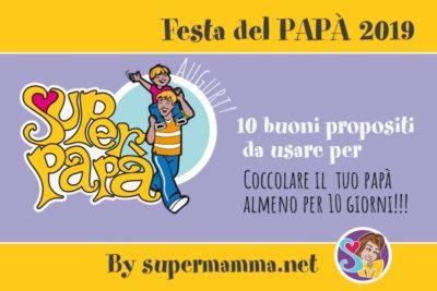Festa del Papà 2019