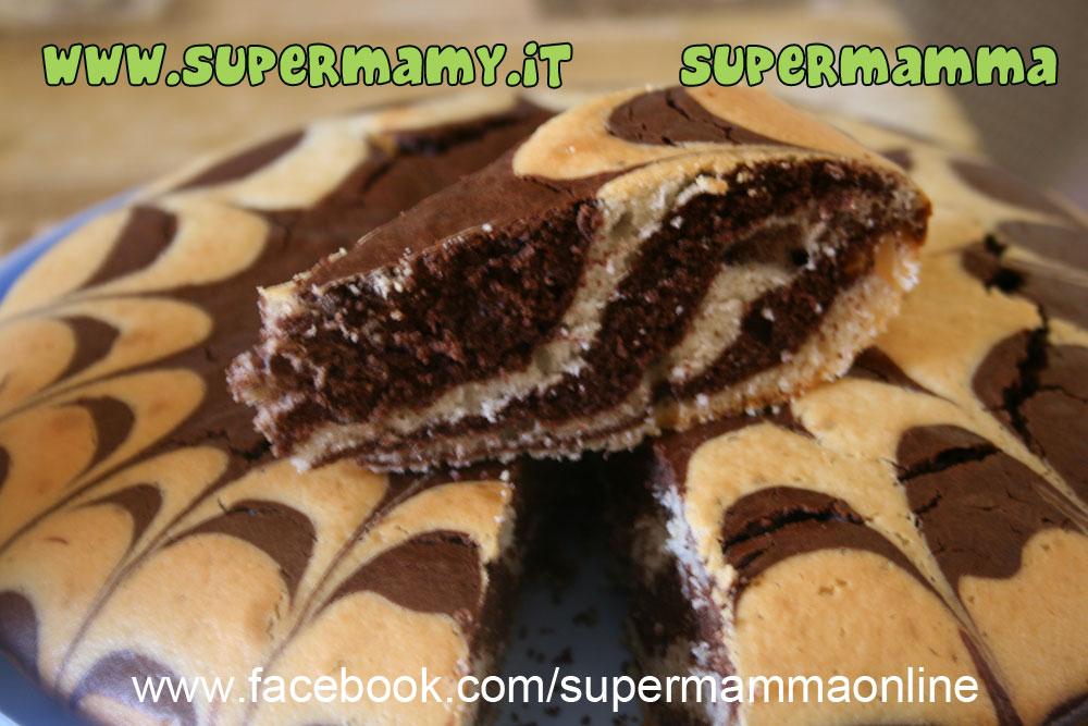 torta zebrata bimby