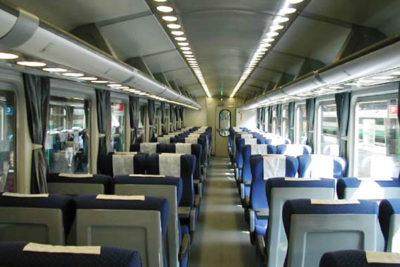 Anti Mamma e il Viaggio in treno